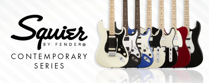 SQUIER CONTEMPORARY SERIES GUITARRAS Y BAJOS