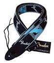 FENDER MONOGRAMED STRAP BLUE