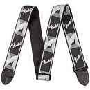 FENDER MONOGRAMED STRAP GREY