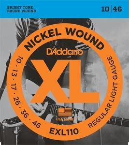 D´ADDARIO EXL110 REGULAR LIGHT